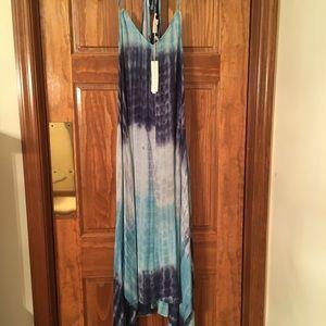 Love Stitch Tie-dyed Halter Dress. NWT
